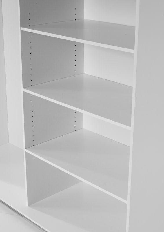 Verona Ekstrahylder - Hvid - Smal - 3 hylder i hvid