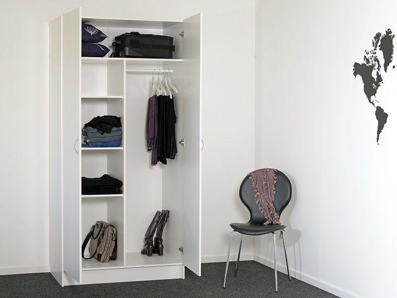 Viby Garderobeskab 100cm, hvid