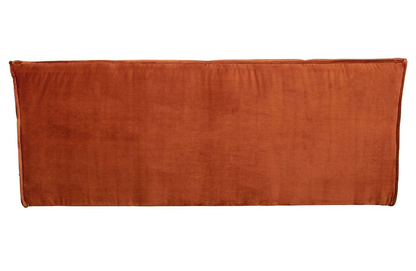 Cluster 3-pers. Sofa - Rust Velour