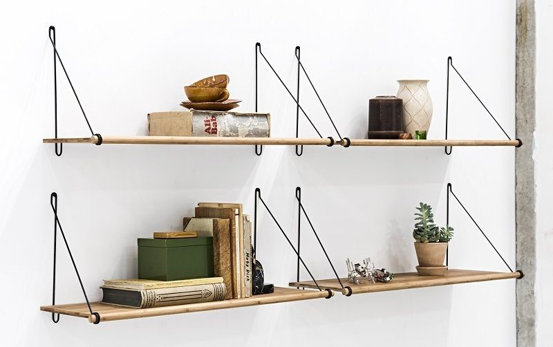 we do wood loop shelf bambus gratis fragt. Black Bedroom Furniture Sets. Home Design Ideas