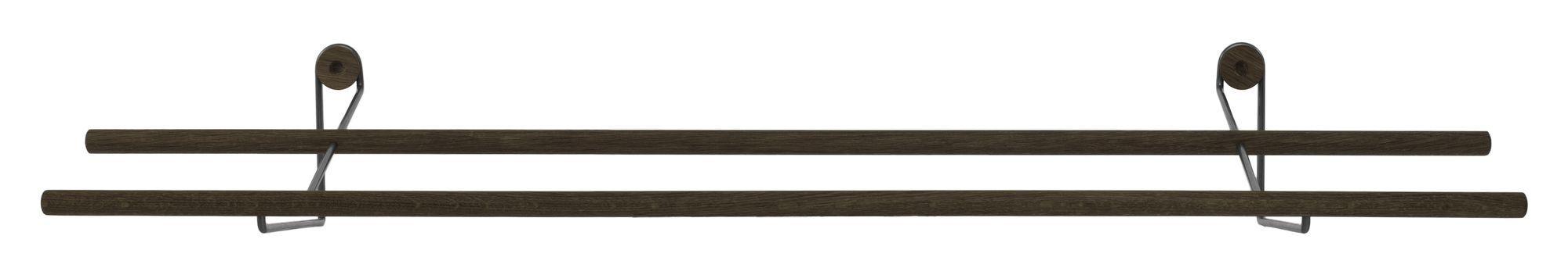 We Do Wood Shoe Rack - Røget Eg/Sort