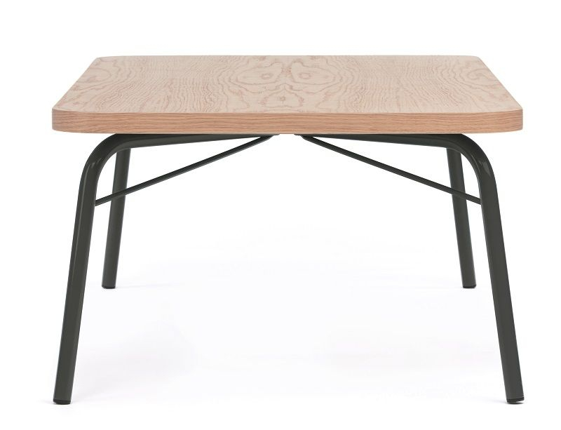 Woodman - Ashburn Sofabord - Sort stel - Sofabord med sort stel