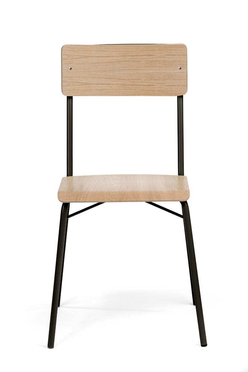 Woodman - Ashburn Spisebordsstol - Lys træ - Spisebordsstol