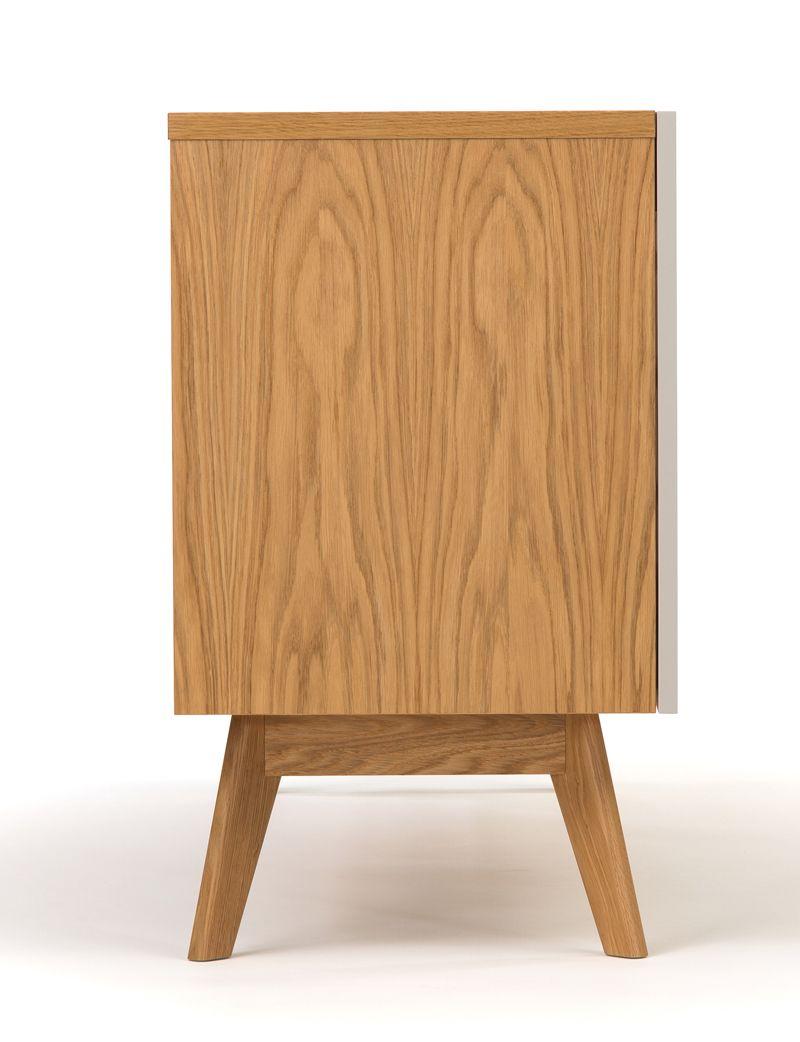 Avon Skænk - Lys træ - Skænk med farvede skuffer