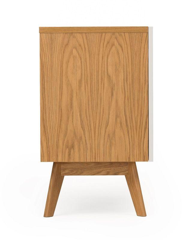 Woodman - Avon Skænk m/farvede skuffer - Strata - Skænk med farvede skuffer