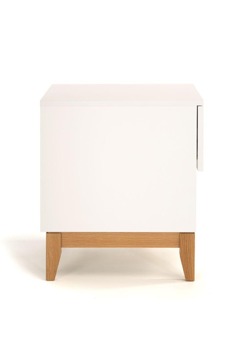 Woodman - Blanco Sidebord - Hvid - Hvidt sidebord