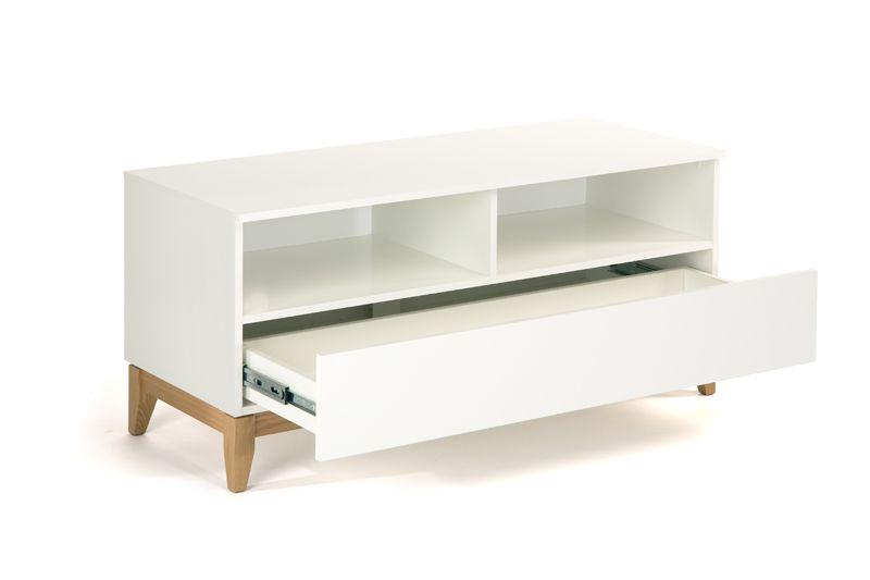 Woodman - Blanco Tv-bord - Hvid - Hvidt TV-bord