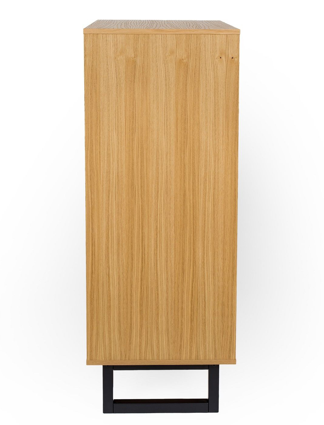 Woodman Camden Kommode - Eg/Herringbone Print, 80x48