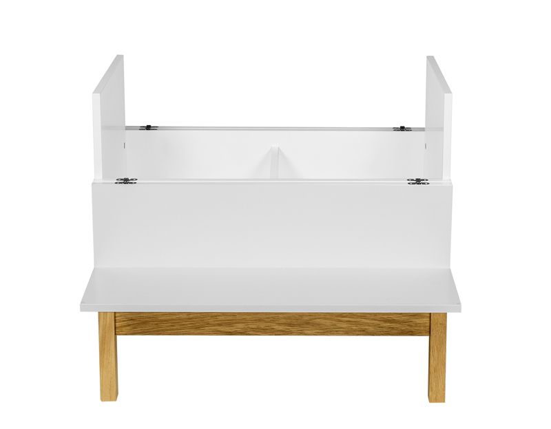 Woodman - Grande Barbord - Hvid - Hvid minibar