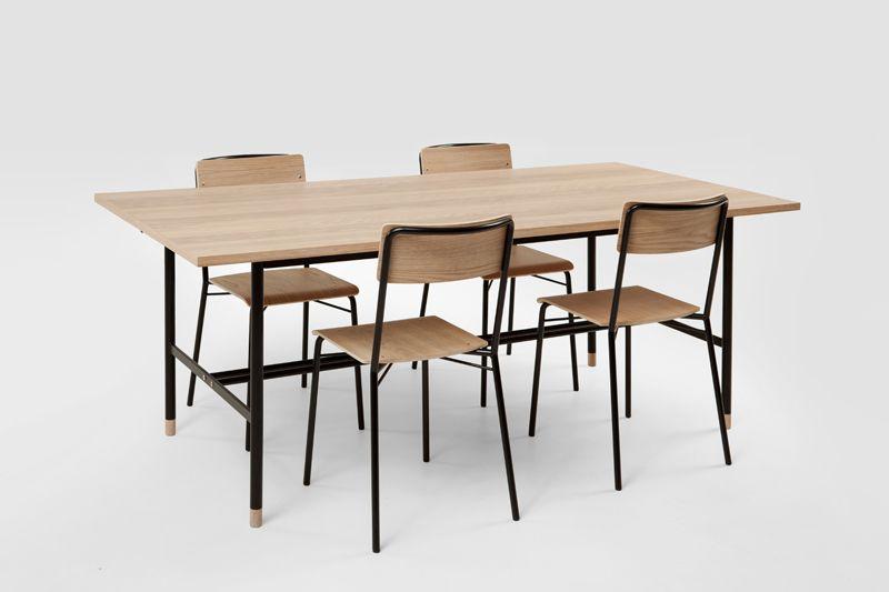 Woodman - Jugend Spisebord - Lys træ - Moderne spisebord