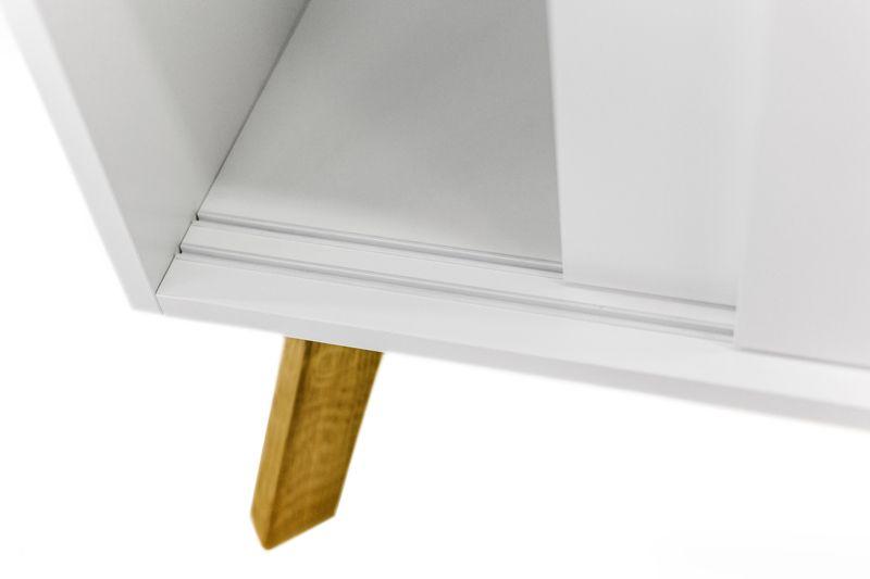 Woodman - Kensal Skænk - Hvid - Hvid skænk m/2 skuffer