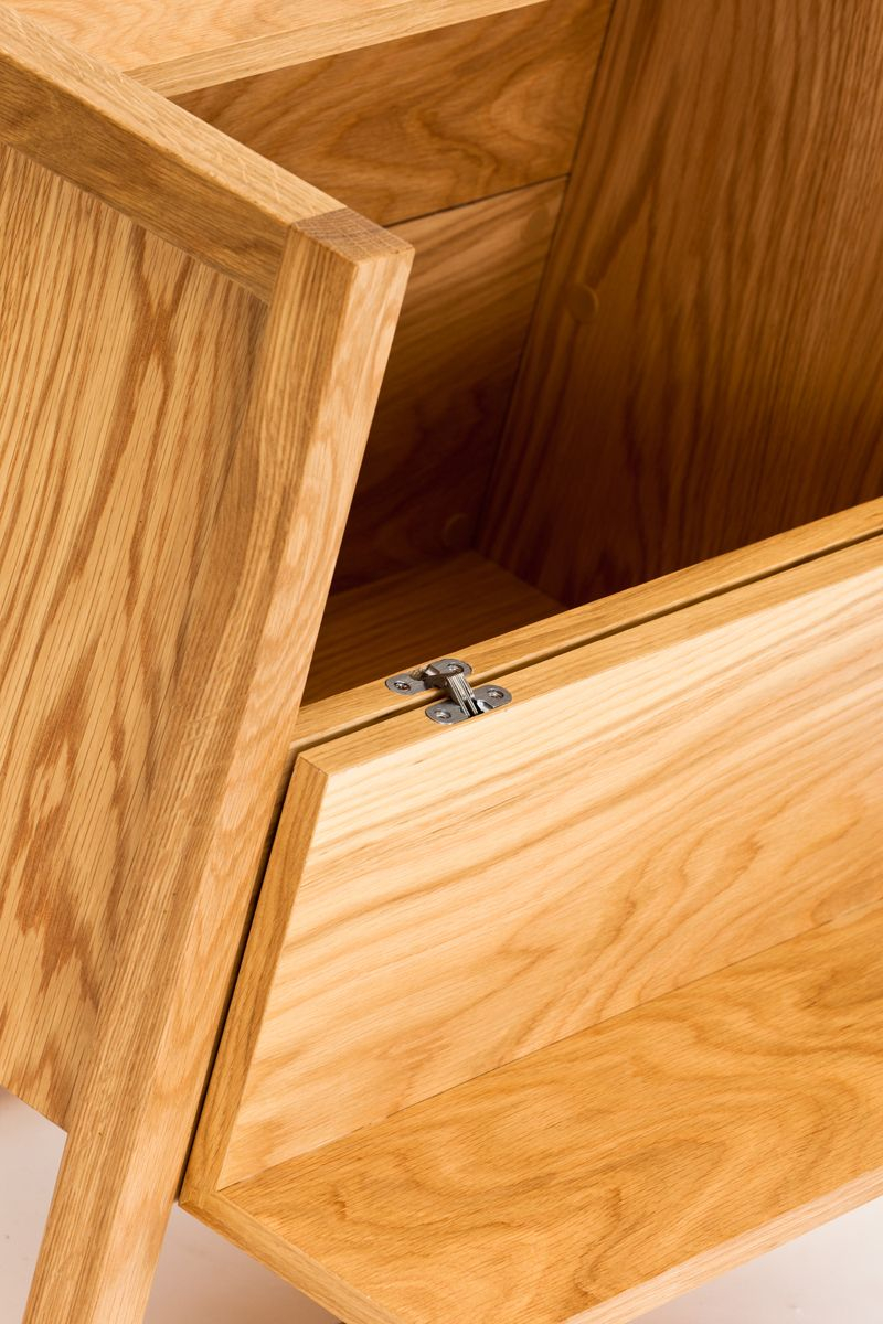 Woodman - NewEst Barbord - Lys træ - Minibar i lys træ