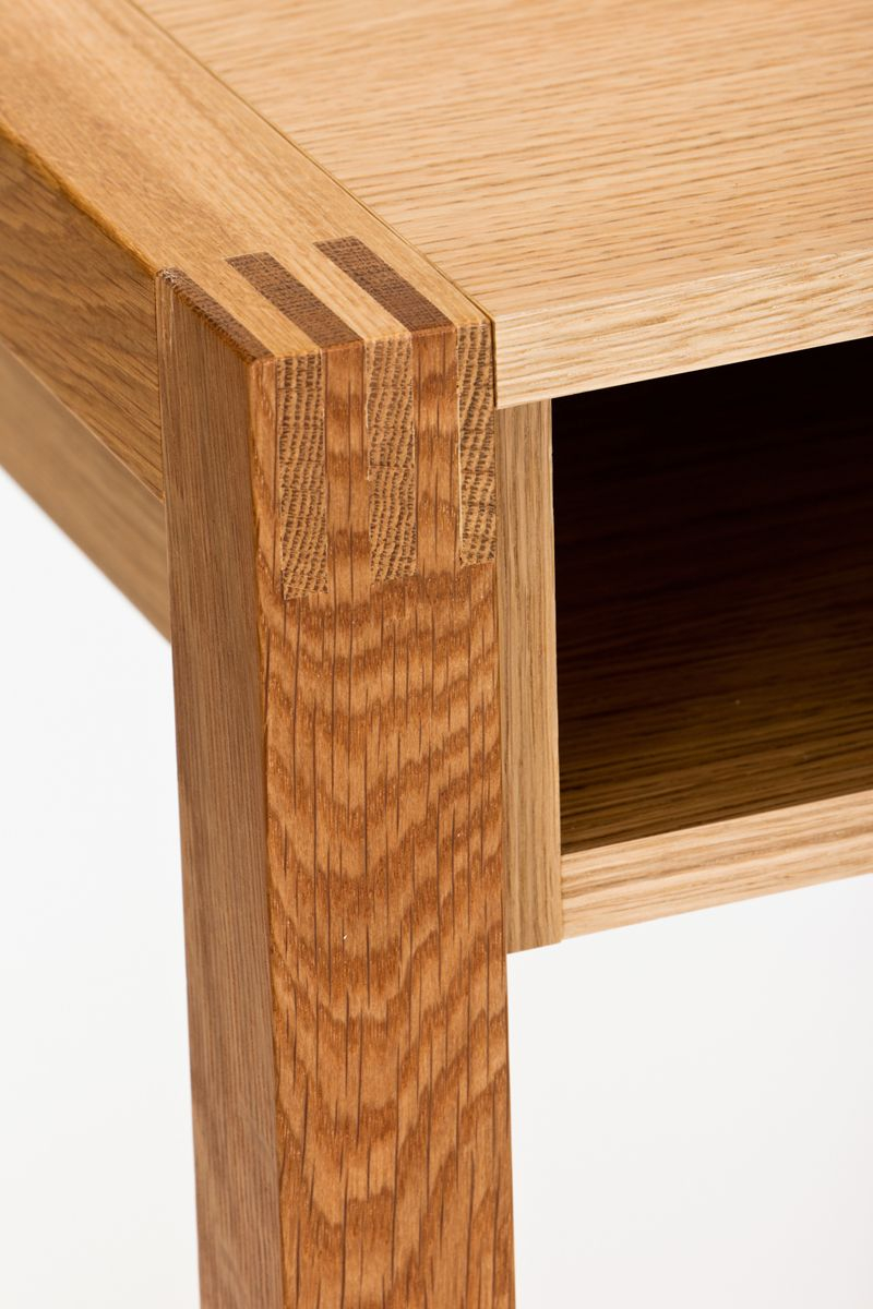 Woodman - NewEst Skrivebord - Lys træ - Skrivebord med skuffe