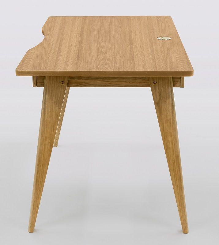 Woodman - Nice Skrivebord m/2 skuffer - Natur - Skrivebord med to skuffer