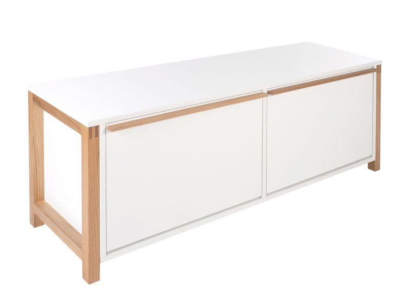 Woodman - Northgate Bænk - Hvid - Hvid Skobænk 120 cm