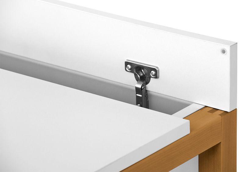 Woodman - Northgate Skrivebord - Hvid - Hvidt skrivebord