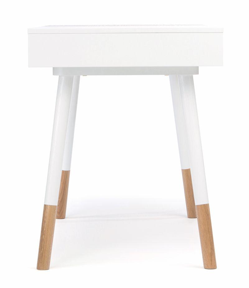 Sonnenblick Skrivebord - Hvid - Hvidt skrivebord