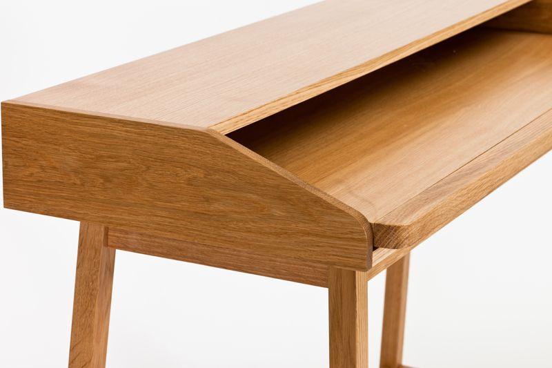 St James Skrivebord - Lys træ - Skrivebord i lys træ