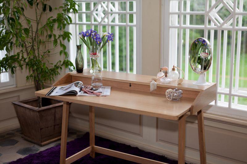 Woodman - St James Skrivebord - Lys træ - Skrivebord i lys træ