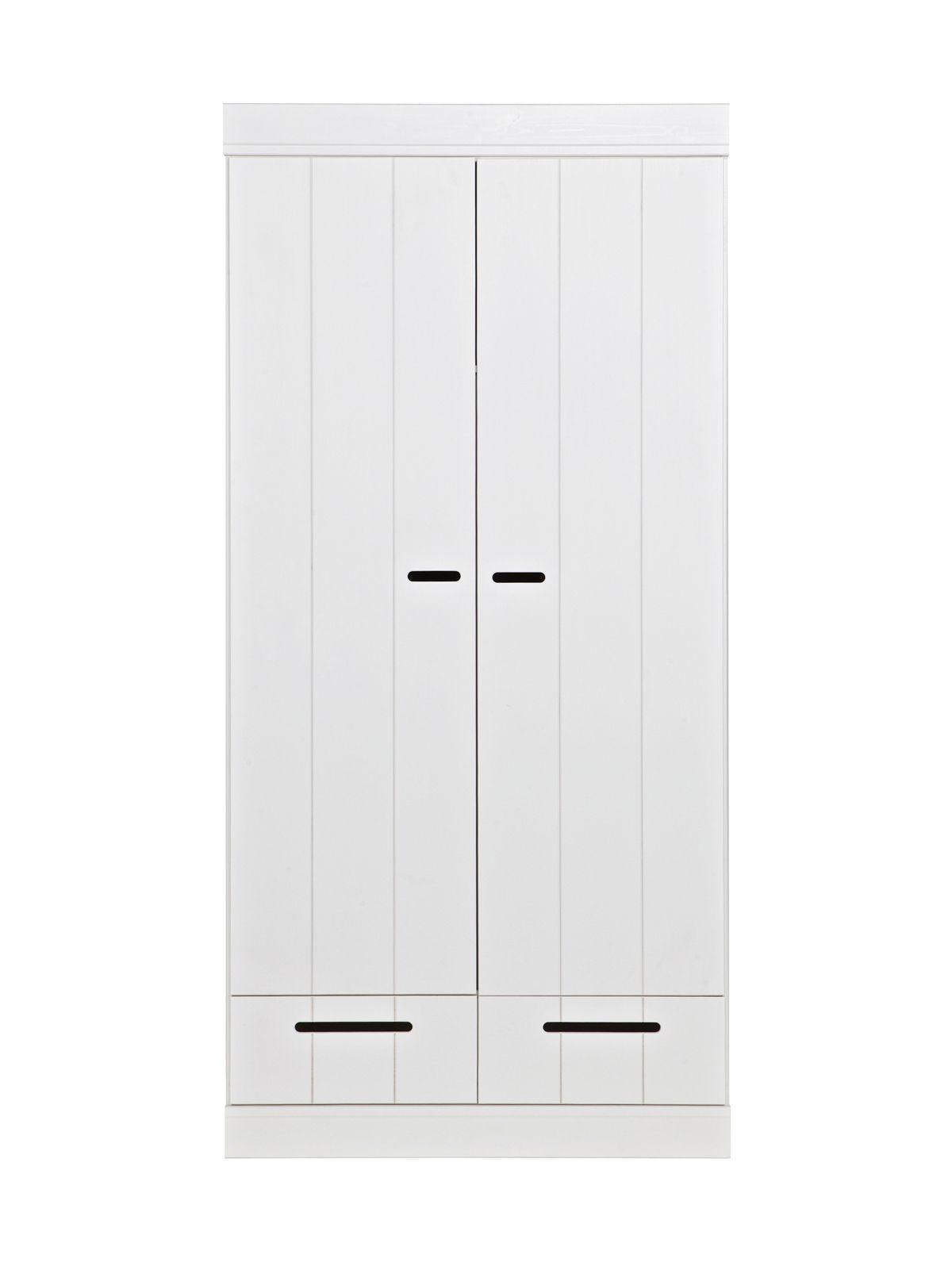 Woood - Connect Garderobeskab - Hvid