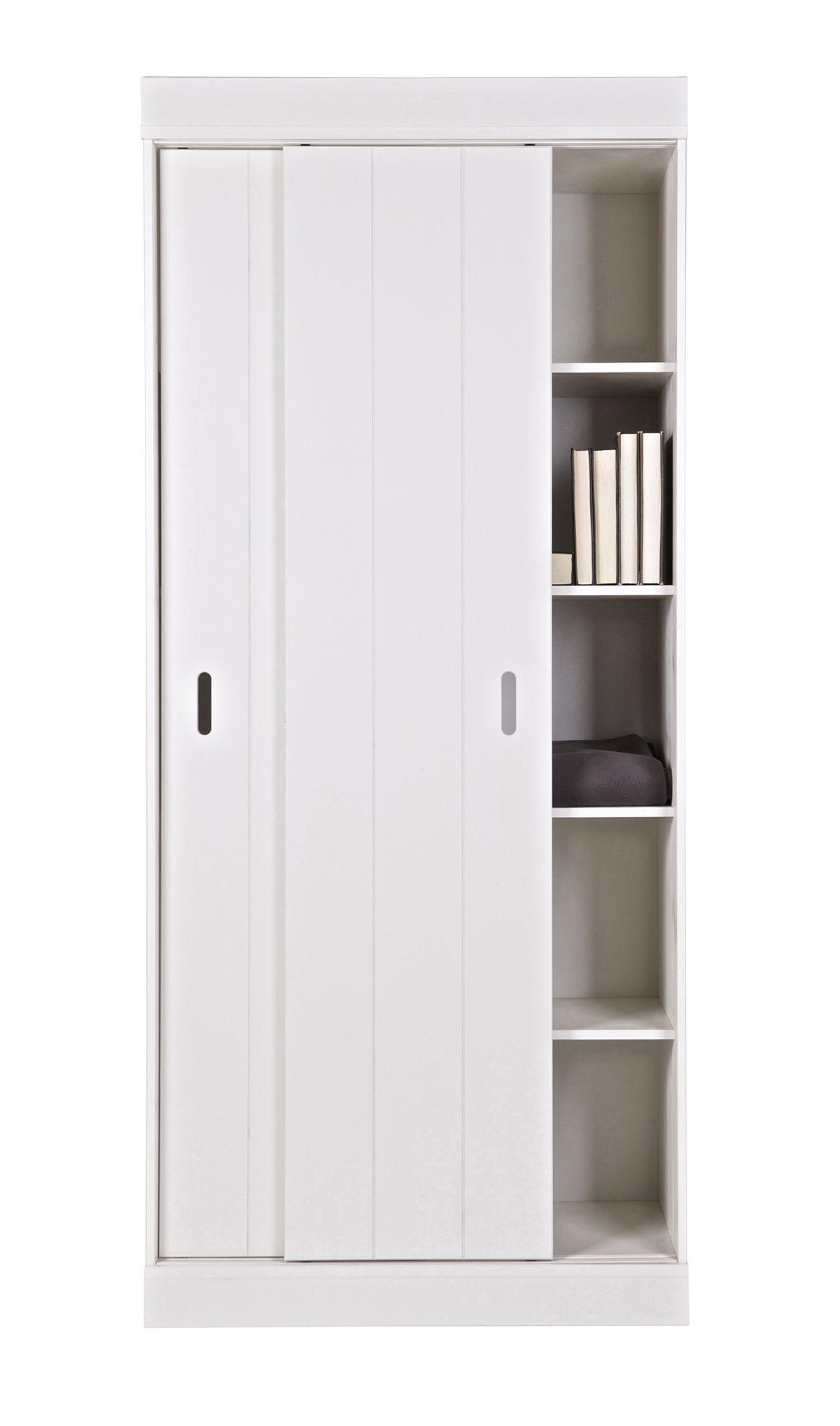 Woood - Row Garderobeskab - Hvid