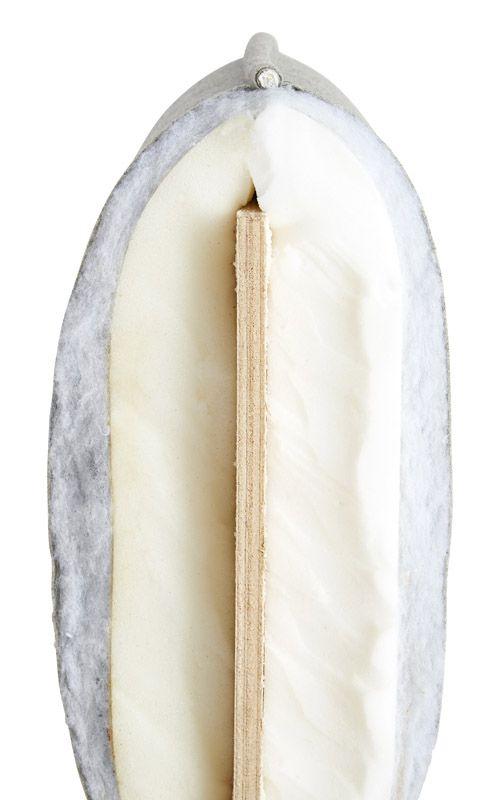 WOUD - Nakki Lænestol - Blå Harald stof