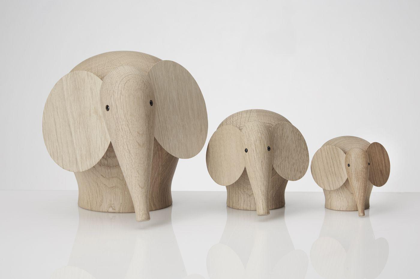 WOUD - Nunu elefant i eg - small