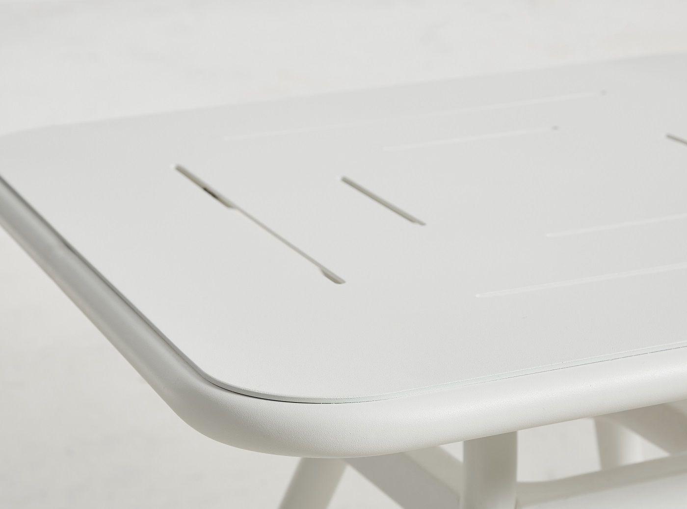 WOUD - Ray Cafébord 65x65 - Hvid
