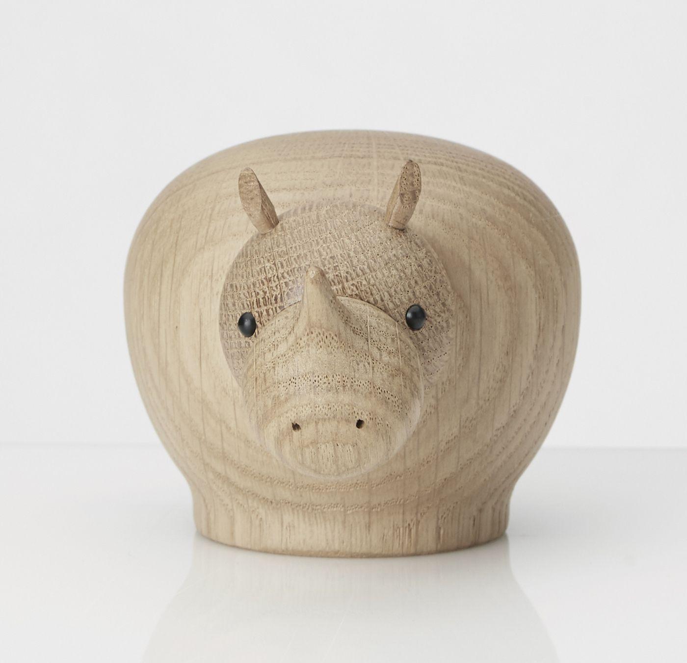 WOUD - Rina næsehorn i eg - small