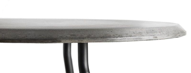 WOUD - Soround Sidebord - Grå fiberbeton - Sidebord i fiberbeton