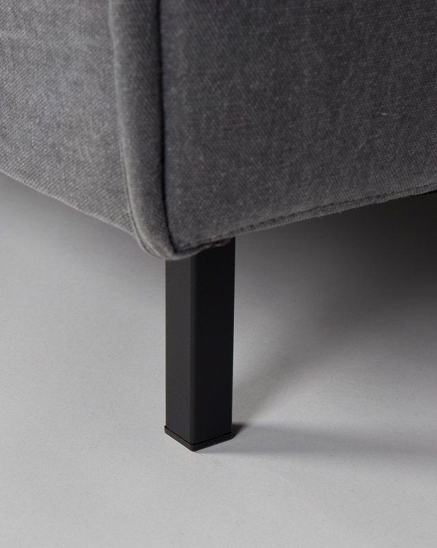 Zuiver Jaey Loungestol - Grå - Komfortabel loungestol