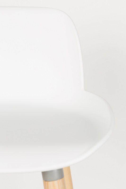 Zuiver Albert Kuip Barstol - Hvid