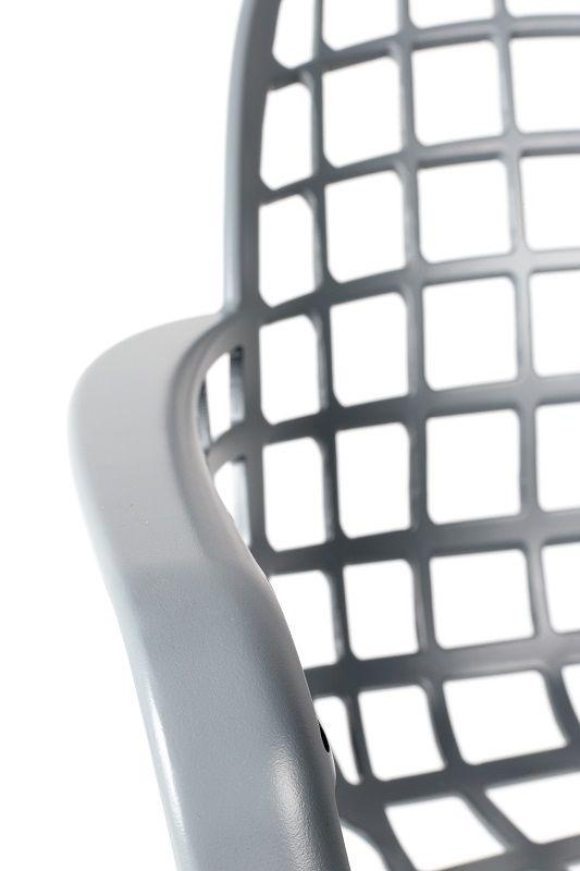 Zuiver Albert Kuip Havestol m/armlæn - Lys grå