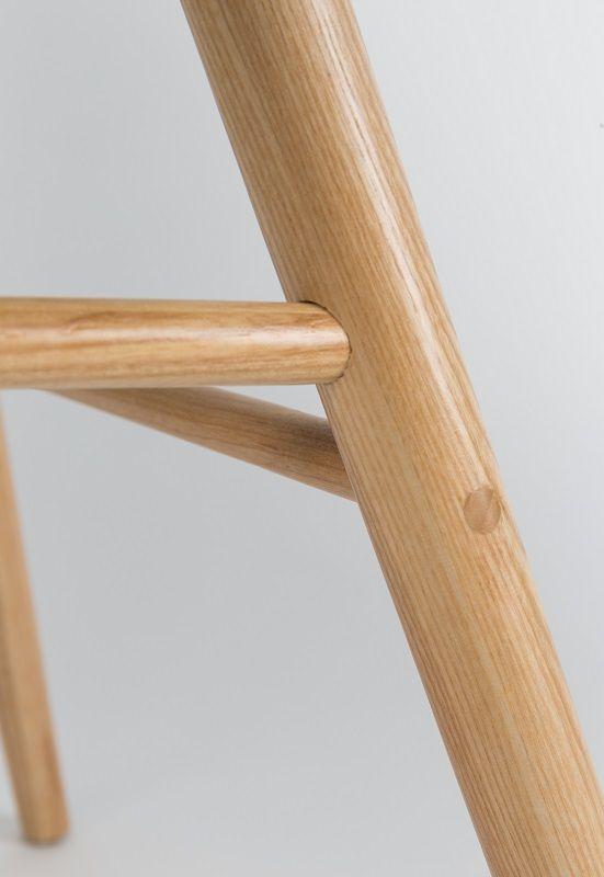 Zuiver - Albert Kuip Spisebordsstol armlæn - Hvid - Spisebordsstol med armlæn