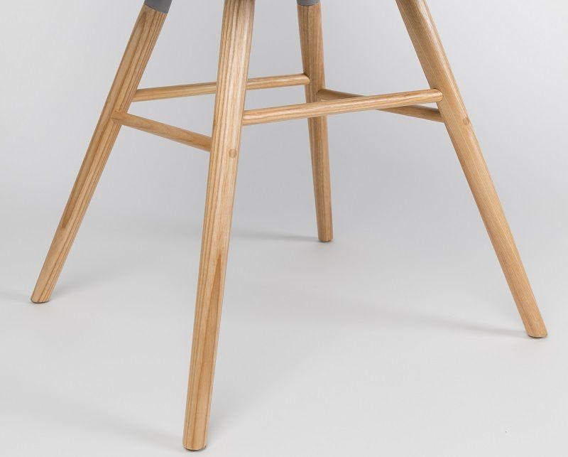 Zuiver - Albert Kuip Spisebordsstol armlæn - Rosa - Spisebordsstol med armlæn