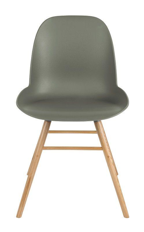 Zuiver Albert Kuip Spisebordsstol - Grøn - Grønn spisestol