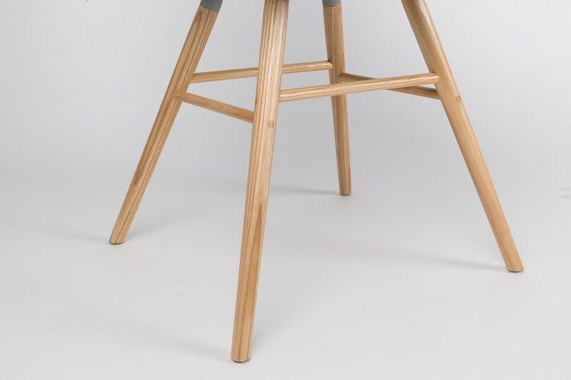 Zuiver Albert Kuip Spisebordsstol - Hvid plast - Spisestuestol i hvit