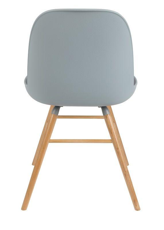 Zuiver Albert Kuip Spisebordsstol - Spisebordsstol i lys grå