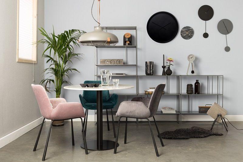 Zuiver Brit Spisebordsstol m/armlæn - Pink