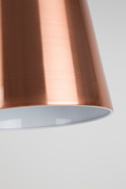Zuiver - Buckle Head Gulvlampe - Kobber - Kobberbelagt gulvlampe