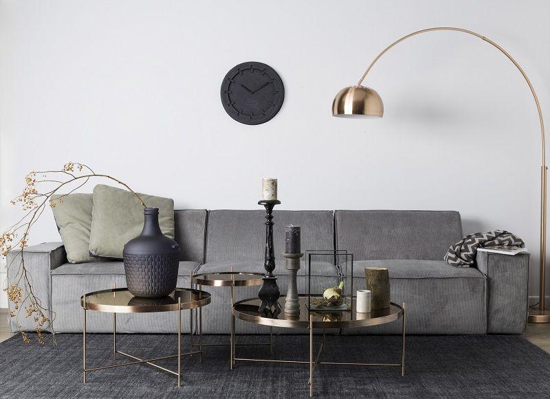 Cupid Bakkebord - Kobber - Elegant og klassisk bakkebord i kobberfarvet metal
