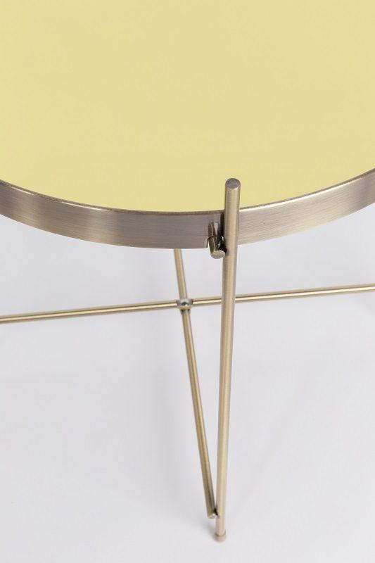 Zuiver - Cupid Sidebord - Guld - Ø43 - Sidebord i guld finish