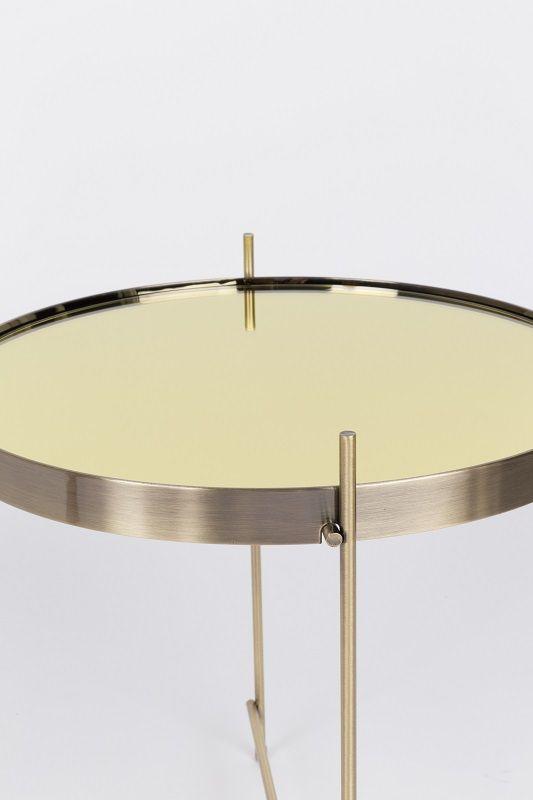 Zuiver Cupid Sidebord - Guld - Ø43 - Sidebord i gull finish