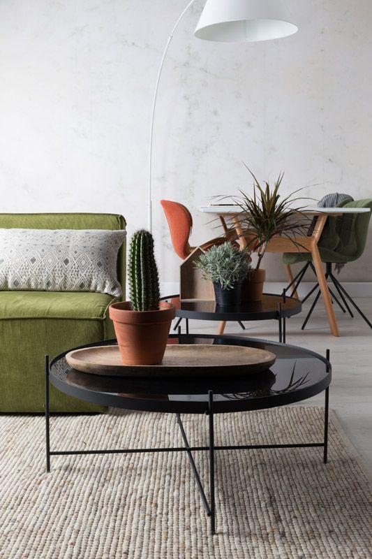 zuiver cupid sofabord sort 82 5 gratis fragt. Black Bedroom Furniture Sets. Home Design Ideas