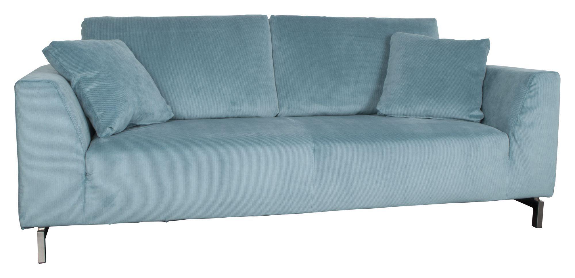Zuiver Dragon 3-pers. sofa - Turkisblå fløjl