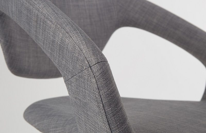 Zuiver - Flex Back Spisebordsstol - Lys Grå - Spisebordsstol i grå