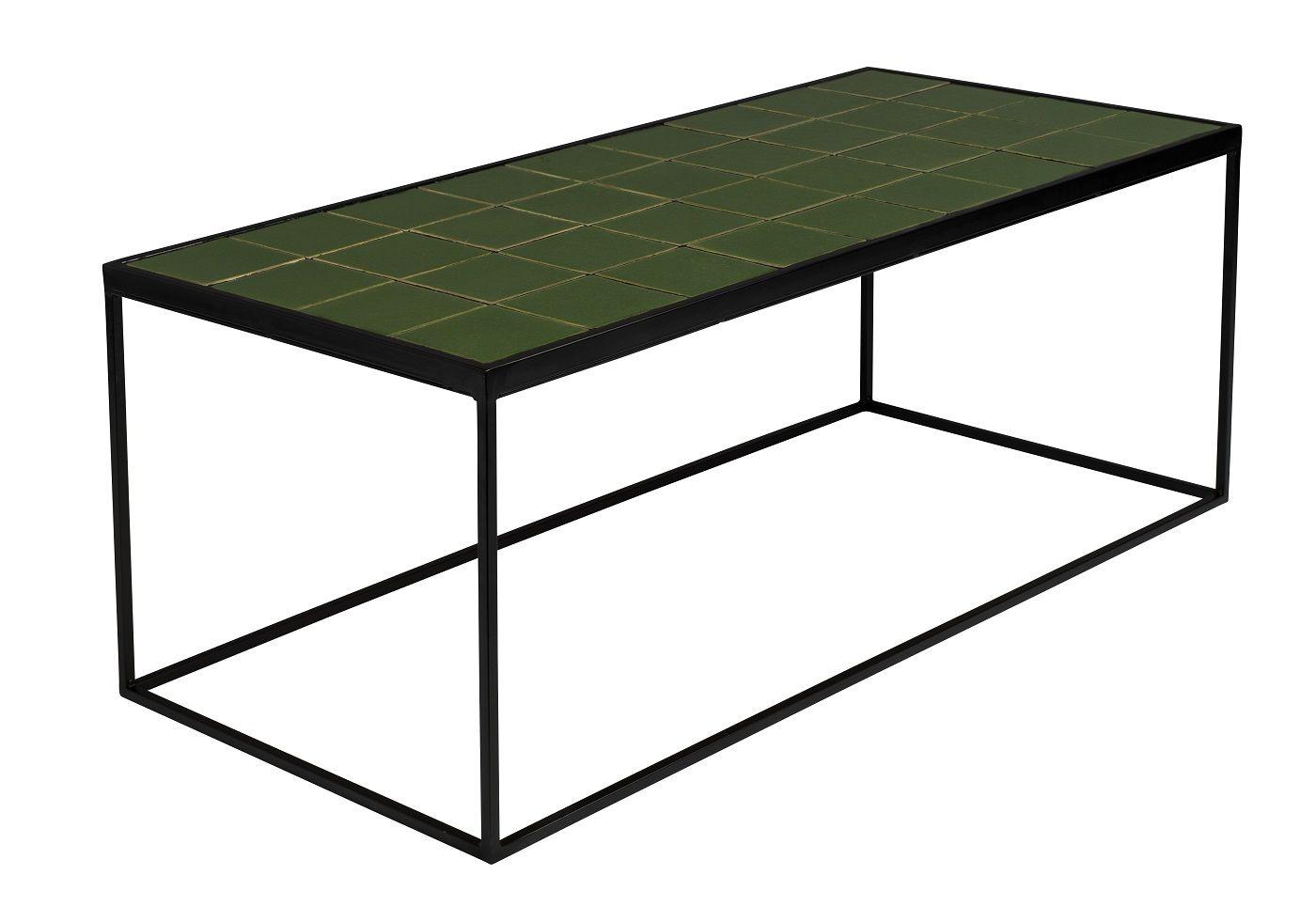 Zuiver Glazed Sofabord 93x43 - Grøn