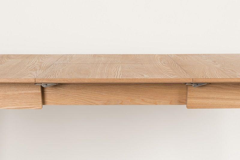 Zuiver Glimps Spisebord - Butterfly udtræk 120x60 - Med butterfly forlengelse
