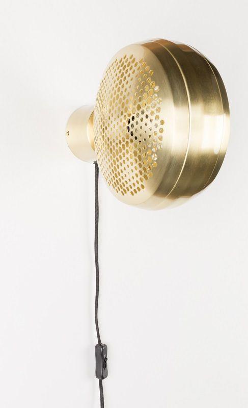 Zuiver Gringo Væglampe - Messing
