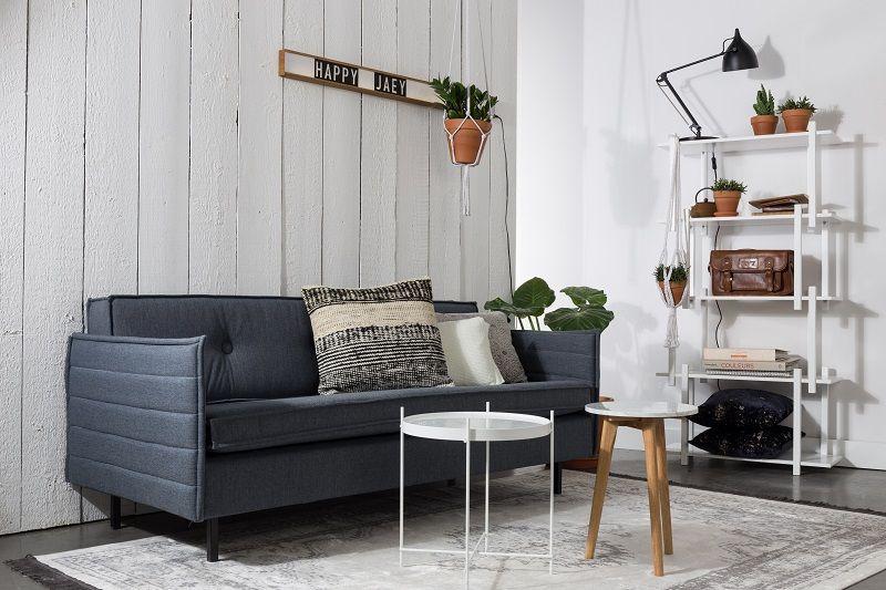 Zuiver - Jaey 2-pers. sofa - Blå - Elegant 2-personers sofa